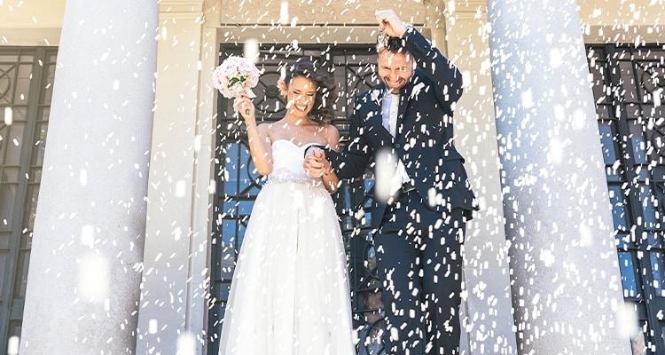 ライスシャワー演出ができる結婚式場特集!費用相場や魅力、人気